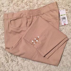 Ruby Rd. Pants - Ruby rd Capri. NWT. Size 18w
